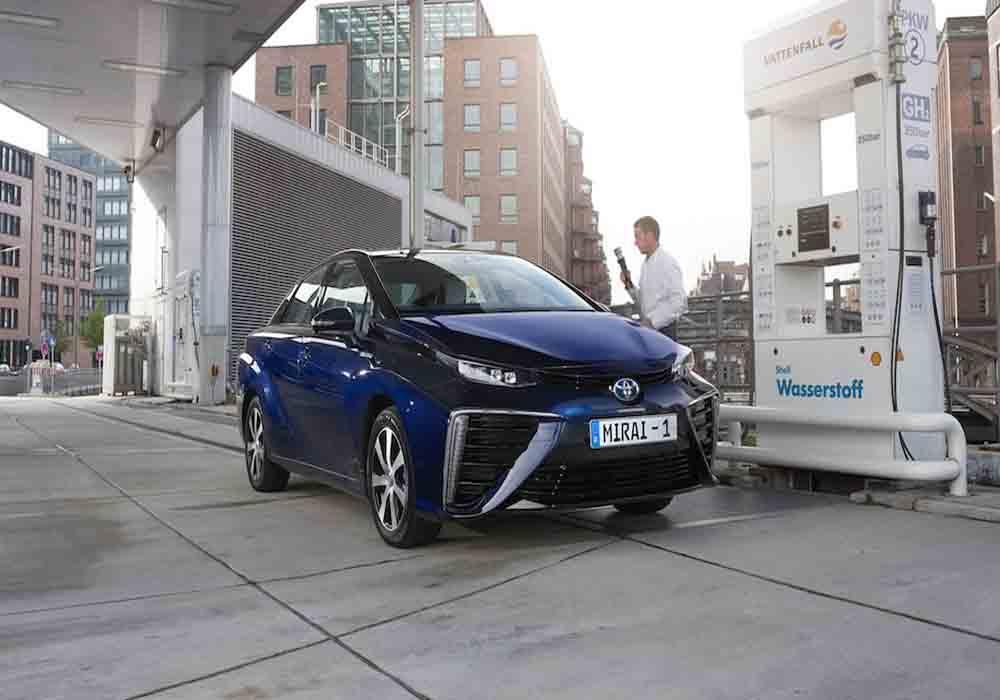 En París circularán 600 taxis de hidrógeno en 2020