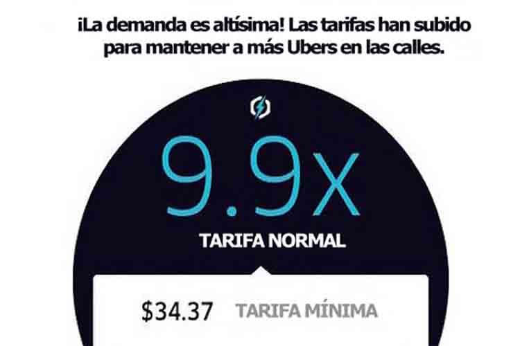 Uber cobra más si cree que estás dispuesto a pagar más