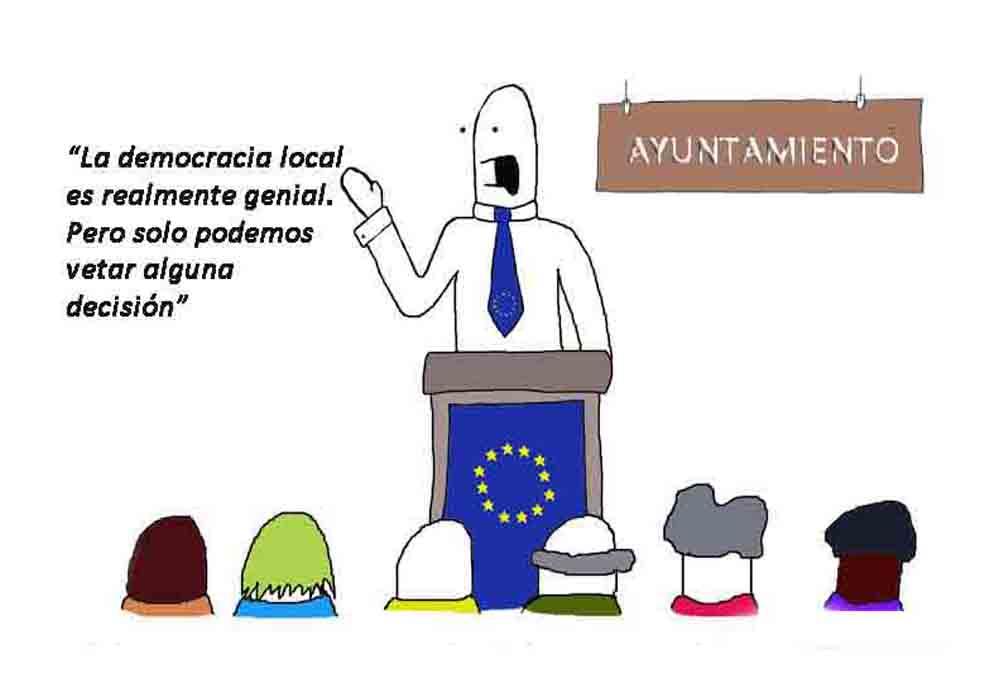La toma de poder de la Comisión de la UE falla