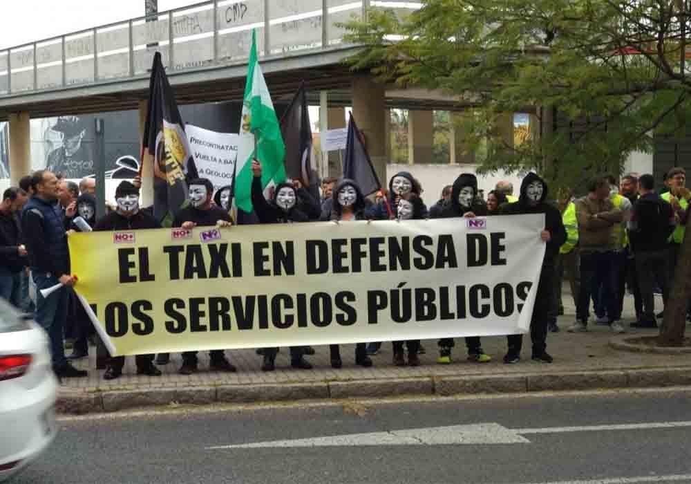 Elite Taxi rechaza el borrador de la junta de Andalucía
