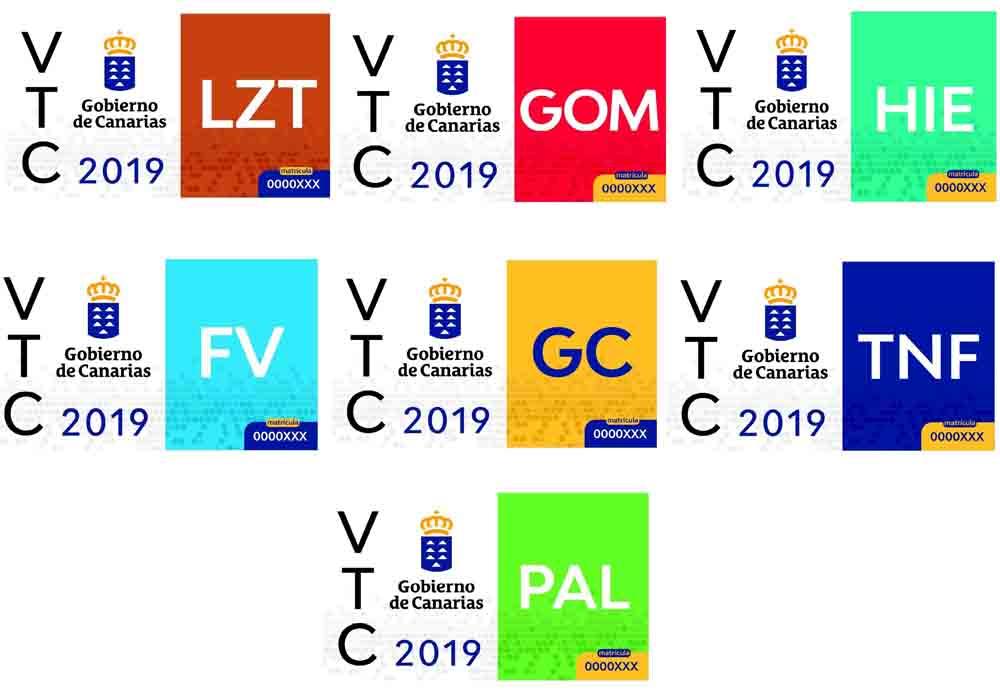 Identificación para VTC en Canarias