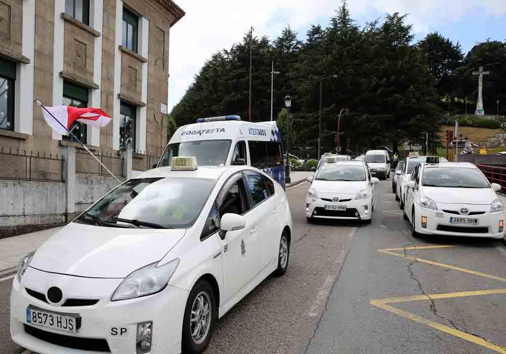 Medidas preventivas en Vigo ante la llegada de las VTC