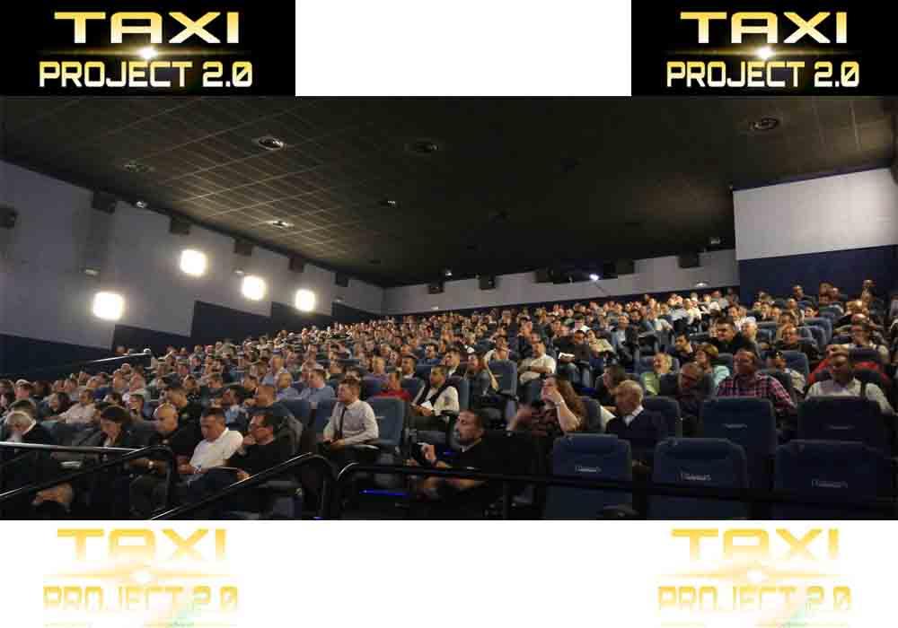 Presentación de Taxi Project en Madrid