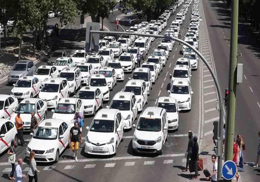 Reunión del Taxi de Madrid con la Alcaldía