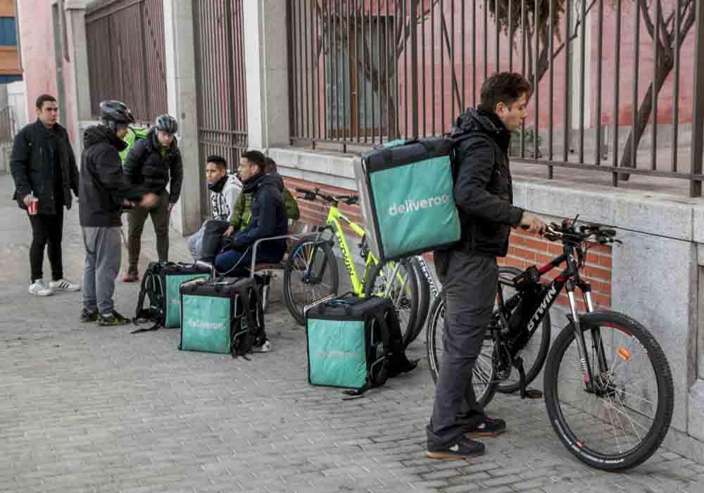 juicio contra Deliveroo en Madrid