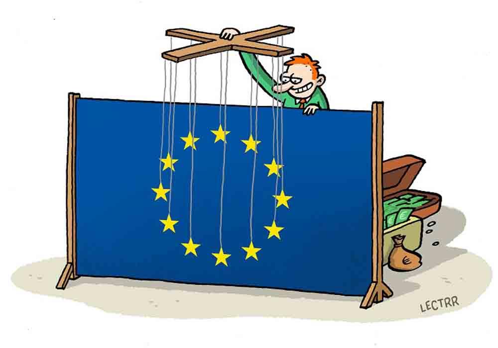 Bruselas está bajo el dominio de 30.000 lobbies