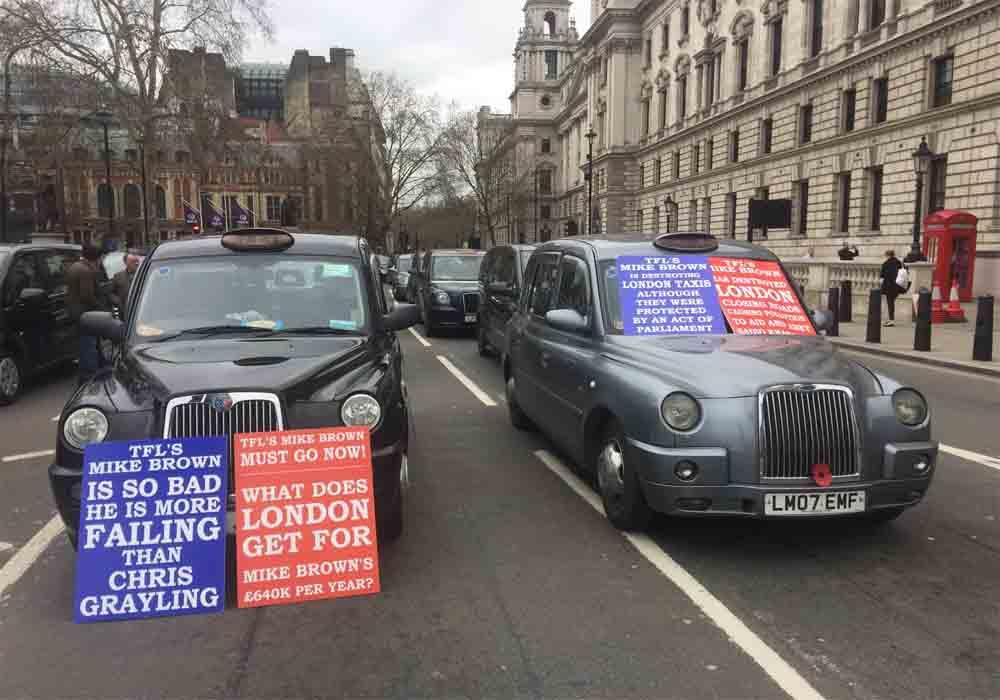 El alcalde de Hackney prohíbe a los taxis entrar en el centro