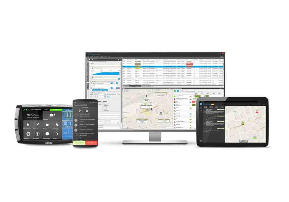 El software de gestión de taxis MPC enlaza con AnSat