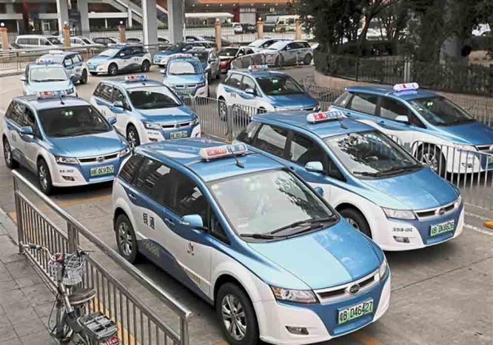 Shenzhen impulsa el uso del taxi eléctrico