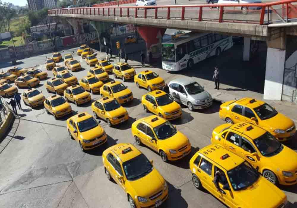 Taxistas de Córdoba (Argentina) protestan contra Cabify