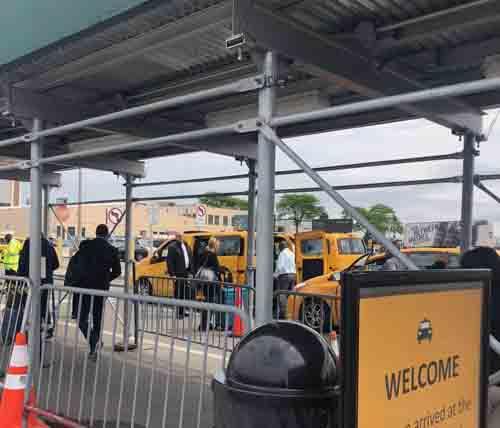 La odisea para dar servicio de taxi en el Aeropuerto de LaGuardia