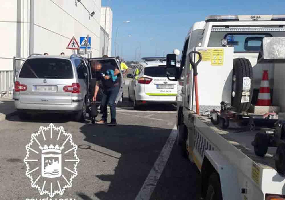Cinco piratas en una mañana en el aeropuerto de Málaga