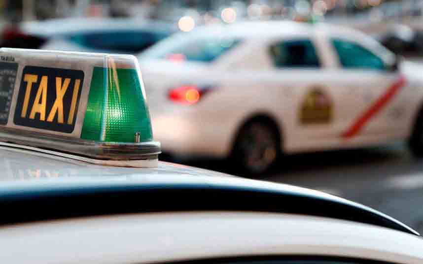 Turbulencias en el sector del taxi