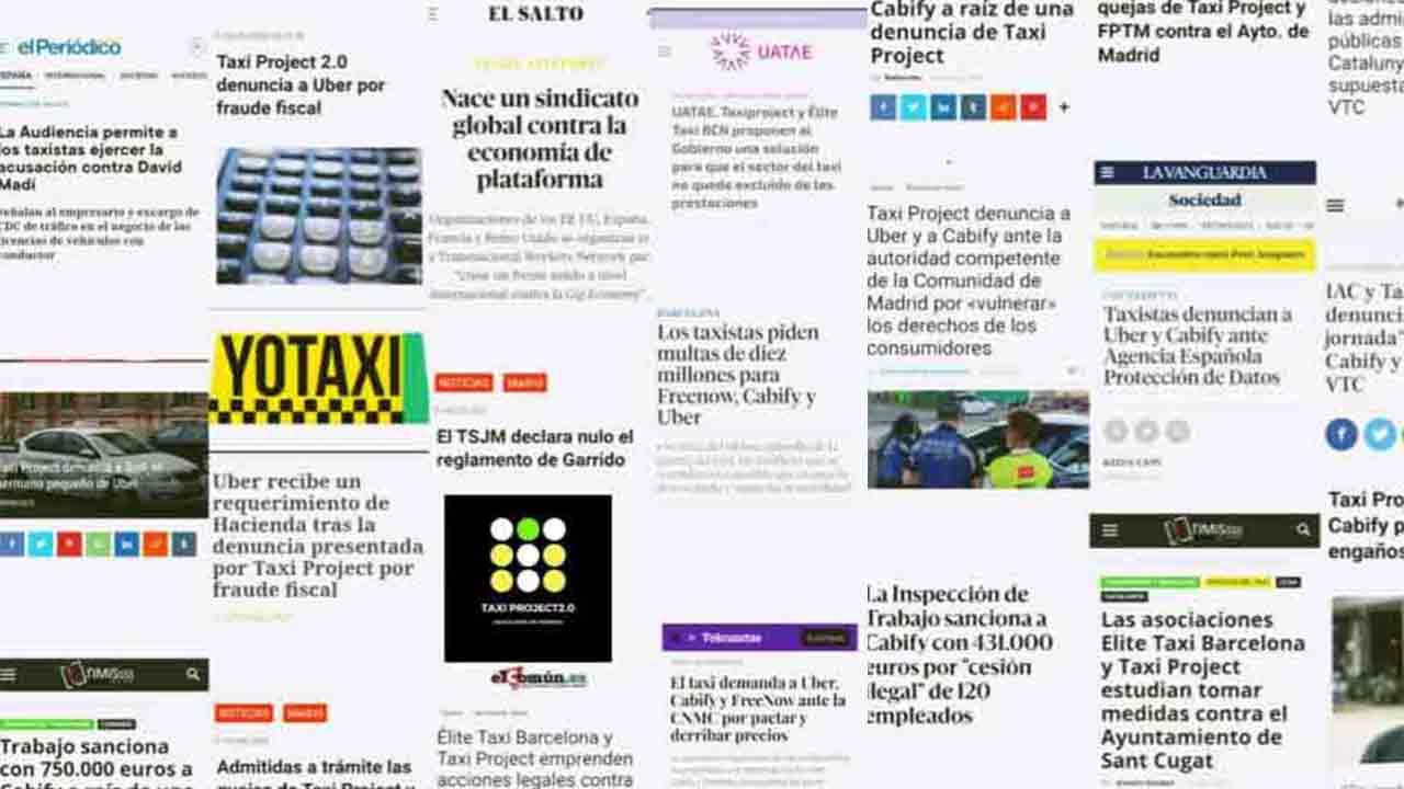 Taxi Project 2021 - Dos años de trabajo intenso